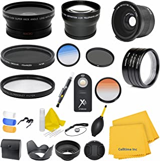 72mm Circular Polarizer Multi-Coated Filter for Panasonic 14-150mm f//3.5-5.6 Vario-Elmarit Aspherical MEGA O.I.S Lenses CT Microfiber Cleaning Cloth