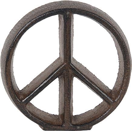 Privilege 19879 Peace Rust Signs Brown