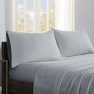 True North by Sleep Philosophy SHET20-528 Micro Fleece Warm Ultra Soft Cold Weather, Queen, Grey