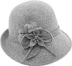 gray cloche hat