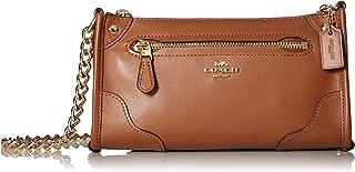 COACH Women's Grain Leather Mickie Crossbody