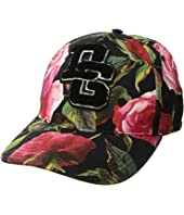 Dolce & Gabbana - Rose Print Baseball Cap