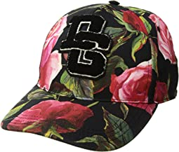 Rose Print Baseball Cap