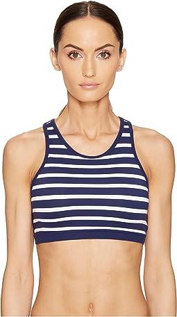 Kate Spade New York x Beyond Yoga - Sailing Stripe Bralette