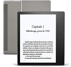 Kindle Oasis, ahora con luz cálida ajustable, resistente al