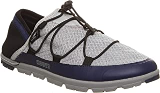 Pakems Chamonix – Mesh- Women's Lightweight, Packable, Warm Weather Two-in-One Slipper/Shoe Perfect for Camping and After Sport -Low Top - Convertible Heel Can Be Worn as a Slide (Sizes 6-11) Gray