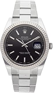 Rolex Datejust Mechanical (Automatic) Black Dial Mens Watch 126334 (Certified Pre-Owned)