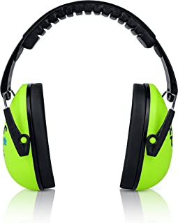 Kids Earmuffs Hearing Protection with Travel Bag- Junior Ear Defenders for Children, Padded Baby Ear Protection, Infants, Small Adults, Women - Adjustable Protector Noise Reduction Ear Muffs