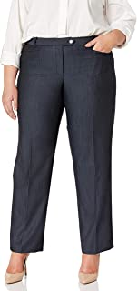 Calvin Klein Women's Plus Size Denim Modern Pant