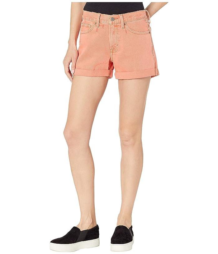Lucky Brand  Boyfriend Shorts in Vintage Persimmon (Vintage Persimmon) Womens Shorts