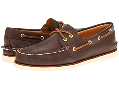 Sperry Gold Cup A/O 2-Eye (Brown) Men