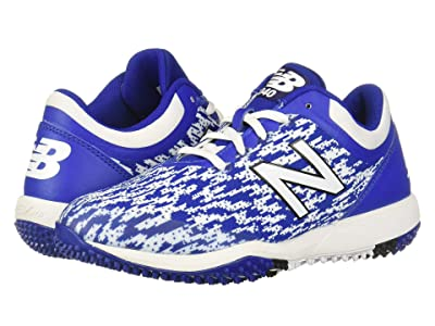New Balance 4040v5 Turf (Black/Royal) Men