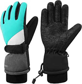 Ski Gloves, Winter Waterproof Snowboard Snow 3M Thinsulate Warm Touchscreen Cold Weather Women Men Gloves