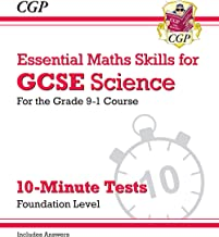 New Grade 9-1 GCSE Science: Essential Maths Skills 10-Minute Tests (with answers) - Foundation