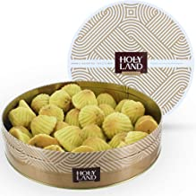 Maamoul with Pistachios Gift Box Tin - Authentic Middle East Sweets