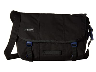 Timbuk2 Flight Classic Messenger Small (Jet Black/Blue Wish) Messenger Bags