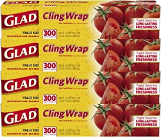 Best glad cling wrap 300m Reviews