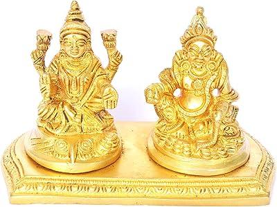Money Lord Kuber and Lakshmi Statue