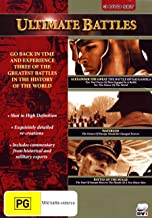 Ultimate Battles: Alexander Great / Waterloo / Battle of Bulge | 3 Discs | Documentary | NON-USA Format | PAL | Region 4 Import - Australia