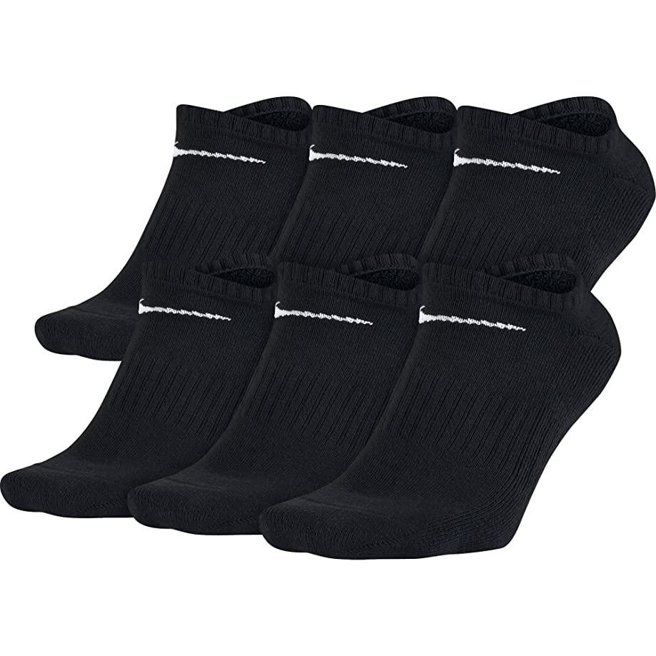 NIKE Performance Cushion No-Show Socks with Band (6 Pairs)