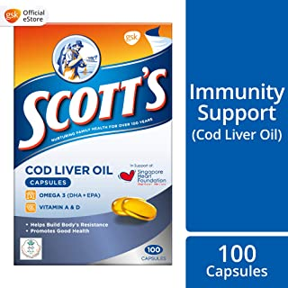 SCOTT's Cod Liver Oil, 100ct