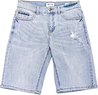 RING OF FIRE Boy's Recycled Fabric Sustainable Denim 5 Pockets Slim Shorts
