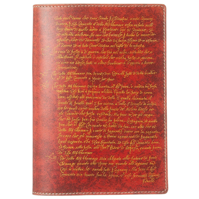 植生洞察力列挙するPTM ブックカバー 文庫 赤茶 8672GP28