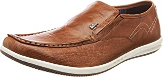 Lee Cooper Men's Fashion Leather Sneakers Slip On Shoes