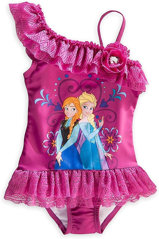 quality assurance 2021 Disney Store Frozen Princess Elsa Swimwe 1 Piece Swimsuit Anna