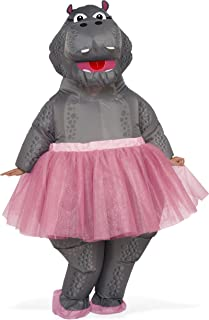 Adult Inflatable Hippo Costume 820649