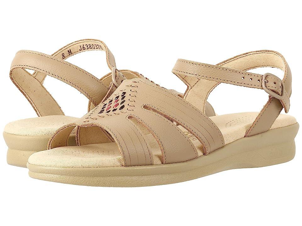1940s Style Shoes, 40s Shoes SAS - Huarache Natural Womens Shoes $124.95 AT vintagedancer.com