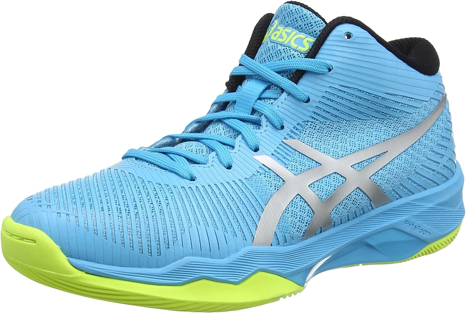 ASICS Volley Elite Ff Mt Womens Trainers B750N Sneakers Shoes