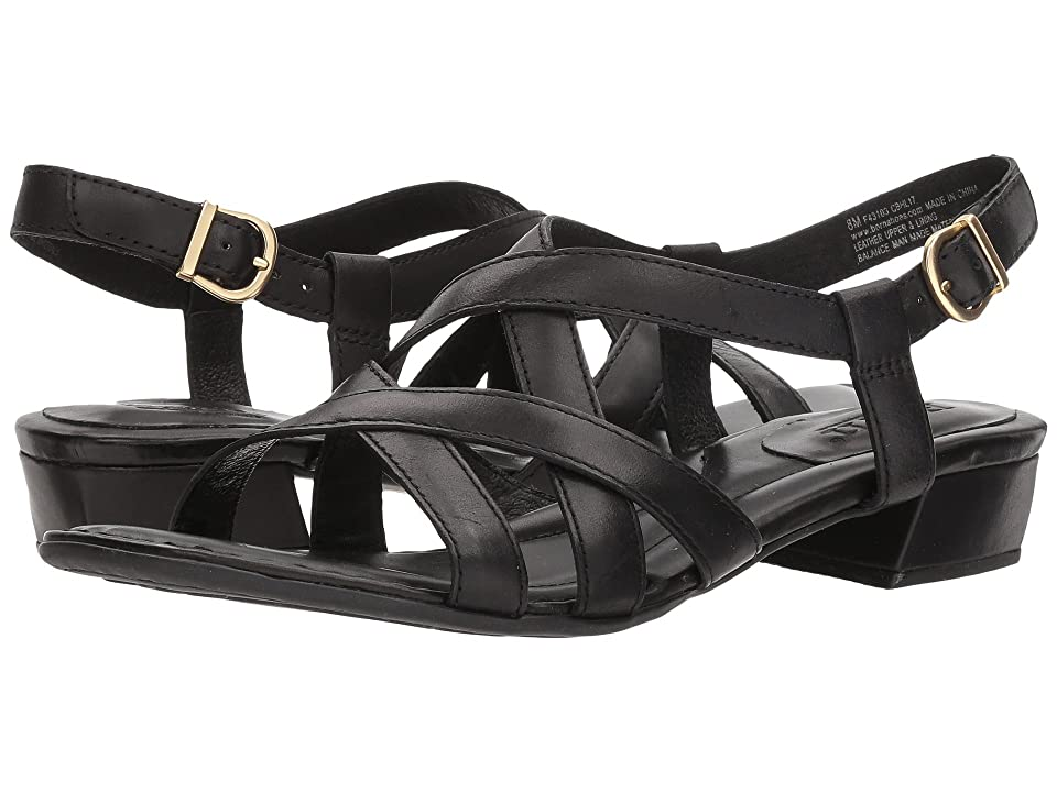 Born Bouvet Easy (Black Full Grain Leather) Women