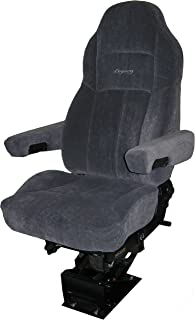 Legacy Silver Air-ride Seat   Microfibre with D2 Technology - Gray