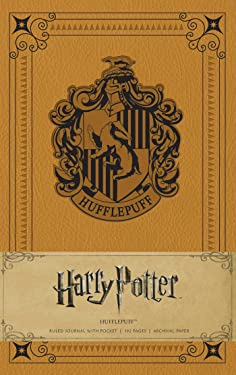 Harry Potter Hufflepuff Hardcover Ruled Journal Insights Journals
