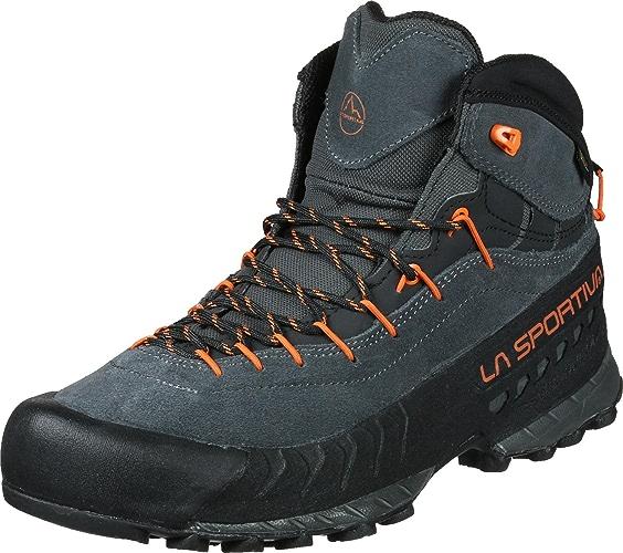La Sportiva 27e900304, Chaussures de Randonnée Basses Mixte Adulte, MultiCouleure (Carbon Flame 000), 46.5 EU