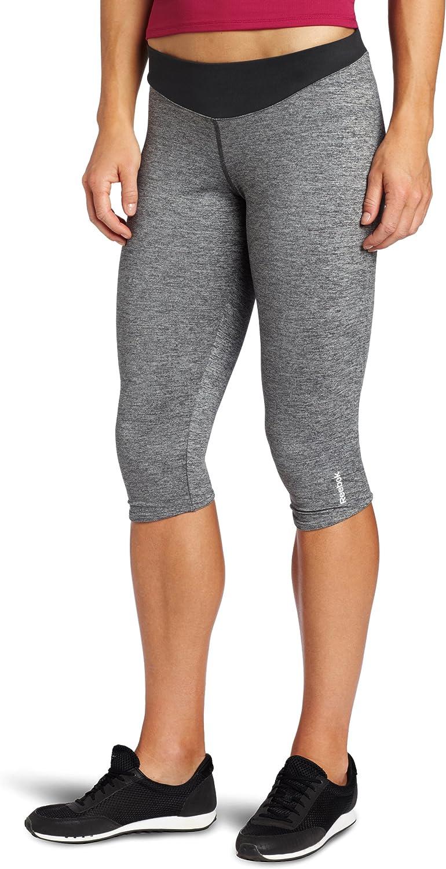 Reebok Women's Flex Skinny Capri Optimal Cash special price El Paso Mall