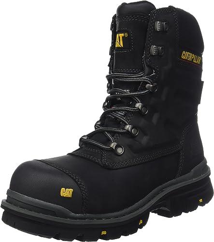 Cat Footwear Premier 8 WR TX CT S3 HRO SRC, Bottes de Sécurité Homme