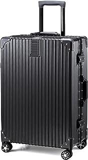 TABITORA(タビトラ) スーツケース キャリーケース アルミフレーム 大型 機内持込 レトロ 四角 静音 TSAロック 傷が目たちにくい 【安心一年】(2色5サイズ対応)