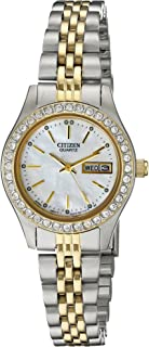 Women's Quartz Watch with Crystal Accents, EQ0534-50D