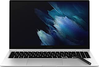 Samsung Galaxy Book Pro 360 Intel Core i7 15.6 Inch Touchscreen Laptop 16GB RAM 512GB Storage Mystic Silver (UK Version)