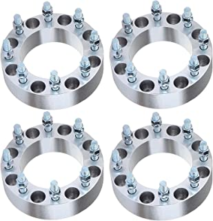 ECCPP Replacement New Parts for 8x170 Wheel Spacers 2 inch 50mm 8x170mm to 8x170mm 14x2 Studs 125mm hub bore Fits for 1999-2004 Ford F-350 Ford F-250 Super Duty