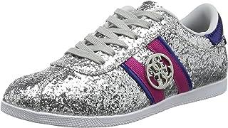 Guess Rylinn/Active Lady/Texture, Chaussures de Gymnastique Femme, Argenté (Silver Silve), 35 EU