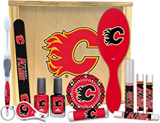 Worthy Promo NHL Calgary Flames Women's Beauty Gift Box Valentine's Day, Mother's Day, Birthday, Holiday