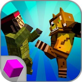 Cube Ninja Kung Fu Fighting: Pixel Fighting | Blocky Wars Pixel Combat Multiplayer Ninja Battle Taekwondo Martial Arts