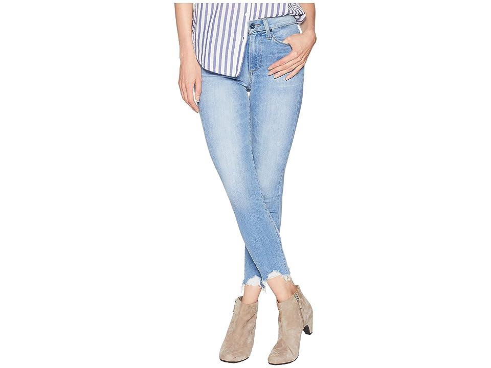 Paige Hoxton Ankle Petite w/ Super Distressed Hem in Alameda (Alameda) Women's Jeans, Blue