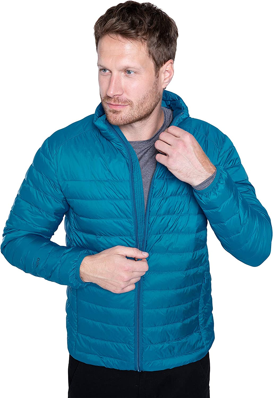 Mountain Warehouse Manufacturer regenerated product Featherweight Mens Down - Puffer Packa Jacket [Alternative dealer]