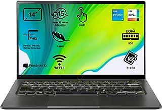 "Acer Swift 5 - Portátil 14"" FullHD (Intel Core i5-1135G7, 8GB RAM, 512GB SSD, Intel Iris Xe Graphics, Windows 10 Home), Co..."