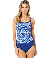Atlantis Scoop Faux Tankini