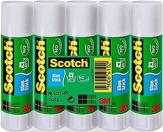 Scotch Lot de 5 Bâtons de colle 21 g